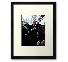 It'sssssssssss Boris Framed Print