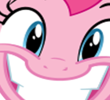 Pinkie Smile Sticker
