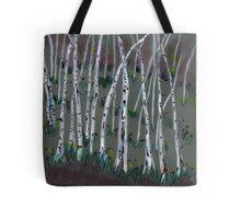 spring birches Tote Bag