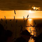 wild atlantic way sunset  by morrbyte