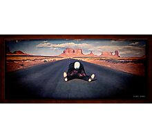 Electra Glide In Blue Photographic Print