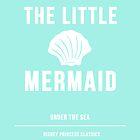 Disney Princesses: The Little Mermaid Minimalist by ofalexandra