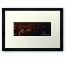 infinite metropolis 001 Framed Print