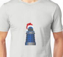 Blue Dalek Christmas Unisex T-Shirt