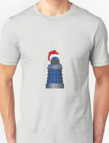 Blue Dalek Christmas T-Shirt