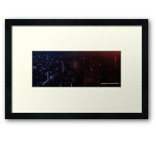 infinite metropolis 003 Framed Print