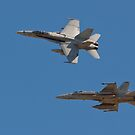 F 18 going into the Break by Buckwhite