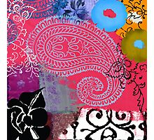Bali III Abstract Fine Art Collage Photographic Print