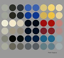 Ellsworth - Abstract Color Dots by Peter Kappus