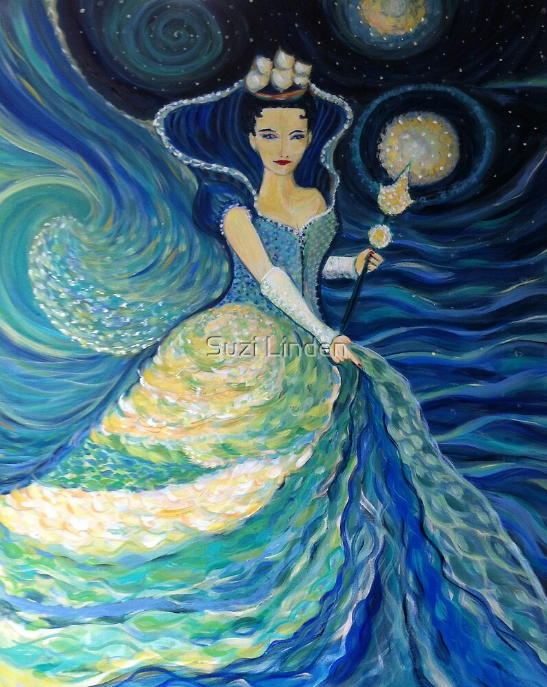 Queen of the Night Sea by Suzi Linden