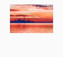 Pink and Purple Sunrise – Toronto Skyline Impressions Unisex T-Shirt
