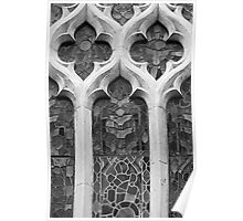 Church Window Pattern Poster