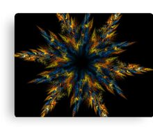 Blue Star Canvas Print