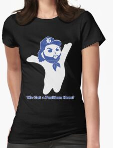 Dough Boy'z in the Hood (We Got a Problem Here?) Womens Fitted T-Shirt