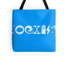 COEXIST - Let the Worlds of Nerdom Unite! Tote Bag