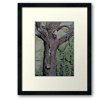 Oak Man Framed Print