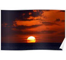 Unforgettable Sunset Poster
