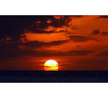 Unforgettable Sunset Photographic Print