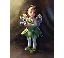 Butterfly Fairy Photographic Print