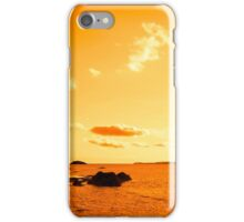 wild atlantic way sunset view ireland iPhone Case/Skin