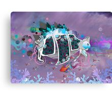Old Elsie and the Storm Canvas Print