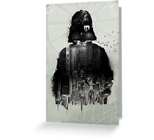 Inspired Poster by Star Wars III Greeting Card