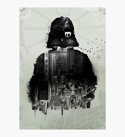 Inspired Poster by Star Wars III Photographic Print