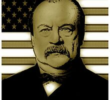 STEPHEN GROVER CLEVELAND-3 by OTIS PORRITT