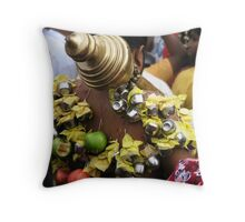 In high spirits 2 Throw Pillow