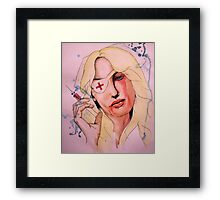 Twisted Nerve Framed Print