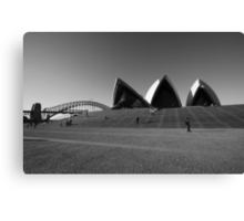 Icons down under Canvas Print