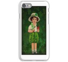 ♪ ♫ IRISH GIRL WITH IRISH BELLS IPHONE CASE♪ ♫ ♩ iPhone Case/Skin