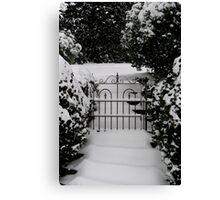 Narnia Gate Canvas Print