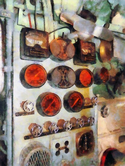 Steampunk Gauges - Engine Room by Susan Savad