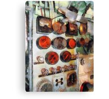 Steampunk Gauges - Engine Room Canvas Print