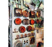 Steampunk Gauges - Engine Room Photographic Print