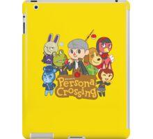 Persona Crossing iPad Case/Skin