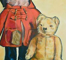 Bears with attitude by Elizabeth Moore Golding