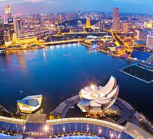 Marina Bay Sands View of Singapore by Kirk  Hille