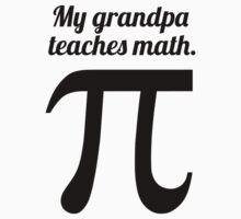 My Grandpa Teaches Math One Piece - Short Sleeve