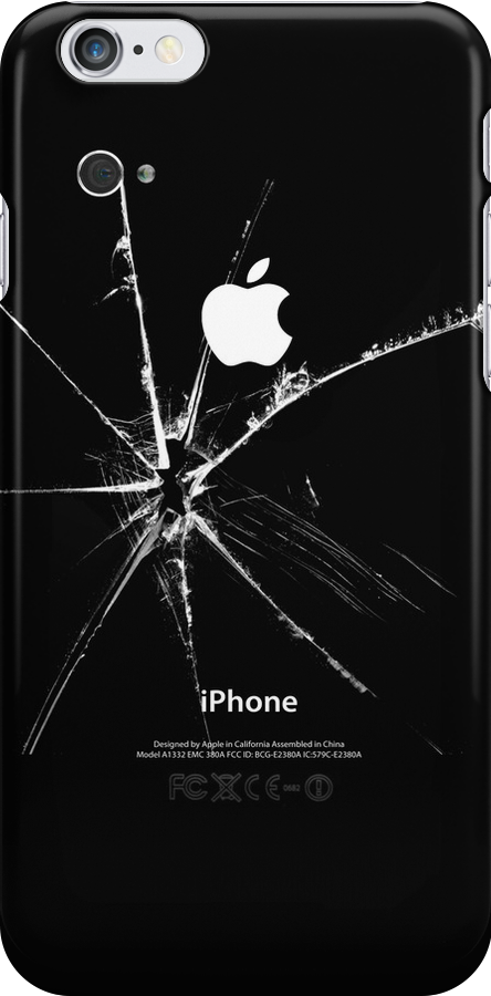 IPhone Broken by Alternative Art Steve
