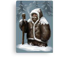 Snow Dwarf Canvas Print