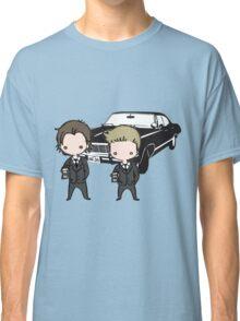 Supernatural Cartoon Dean & Sam Classic T-Shirt