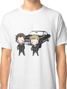 Supernatural Cartoon Dean & Sam Classic T-Shirt