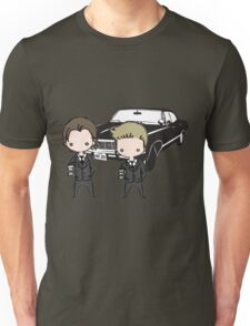 Supernatural Cartoon Dean & Sam Unisex T-Shirt
