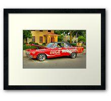 Mickey D's Framed Print