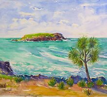 Cook Island # 4 Fingal Headland NSW  by Virginia McGowan