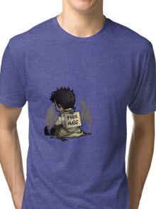 Supernatural - Castiel free hugs Tri-blend T-Shirt