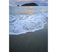 Hahei Sunset Photographic Print