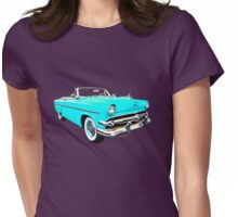 54 Ford Sunliner Date Night Saturday Night Womens Fitted T-Shirt